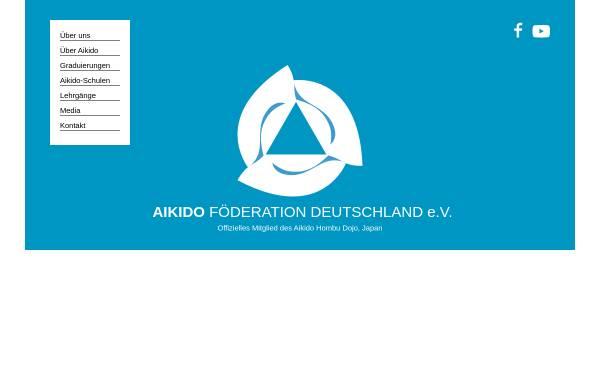 Vorschau von www.aikido-foederation.de, Aikido-Föderation Deutschland