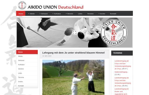 Vorschau von www.aikido-union.de, Aikido-Union Deutschland e.V.