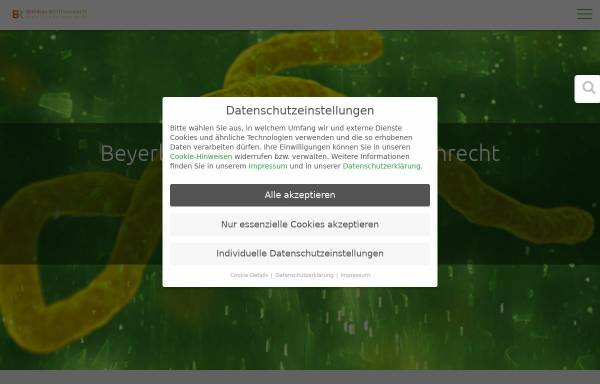 Vorschau von fachanwaeltemedizinrecht.de, Beyerlin & Beyerlin-Marschner