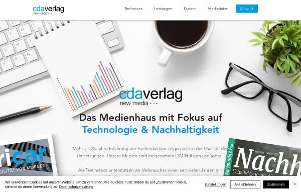 Vorschau von www.cda-verlag.com, CDA Verlag
