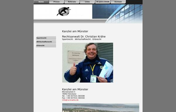Vorschau von www.kanzlei-am-muenster.de, Dr. Krähe & Lindner