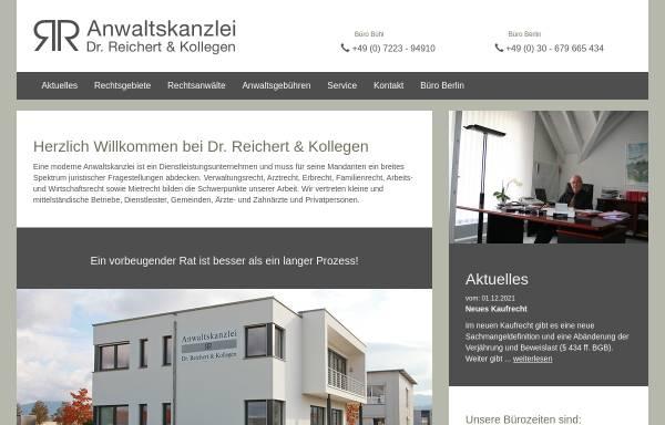 Vorschau von www.reichert-recht.de, Dr. Reichert & Kollegen