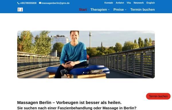 Vorschau von www.massagenberlin.com, Grütz, Martin