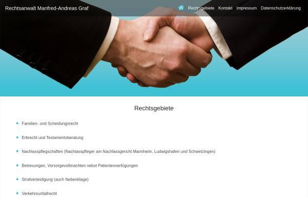 Vorschau von www.graf-rechtsanwalt.de, Graf Manfred-Andreas