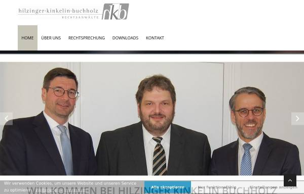 Vorschau von www.ra-hilzinger.de, Hilzinger Tom C.
