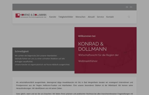 Vorschau von www.konrad-rechtsanwaelte.de, Konrad Rechtsanwälte