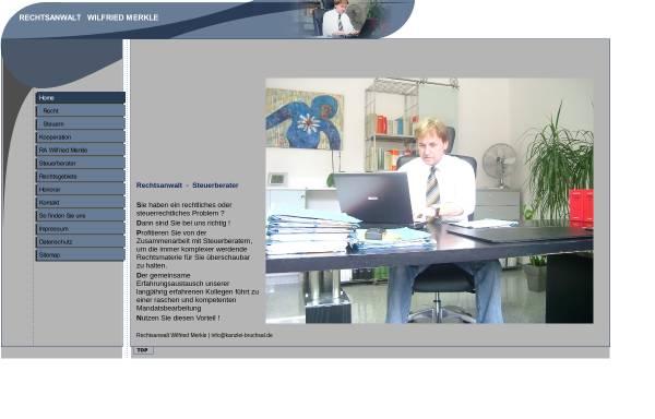 Vorschau von www.rechtsanwalt-bruchsal.de, Merkle, Wilfried
