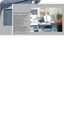 Vorschau der mobilen Webseite www.rechtsanwalt-bruchsal.de, Merkle, Wilfried