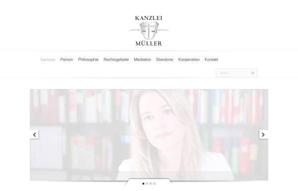 Vorschau von www.kanzlei-mueller.net, Müller Britta Maria
