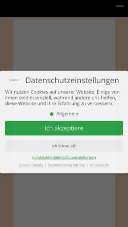 Vorschau der mobilen Webseite www.rilling-rechtsanwaelte.de, Rilling & Coll.