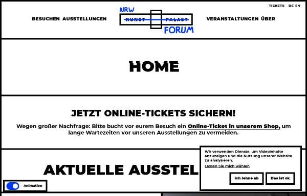 Vorschau von www.nrw-forum.de, NRW-Forum