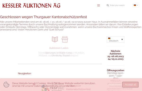 Vorschau von www.kesslerauktionen.ch, Kessler Auktionen GmbH
