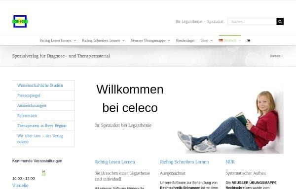Vorschau von www.celeco.de, Celeco