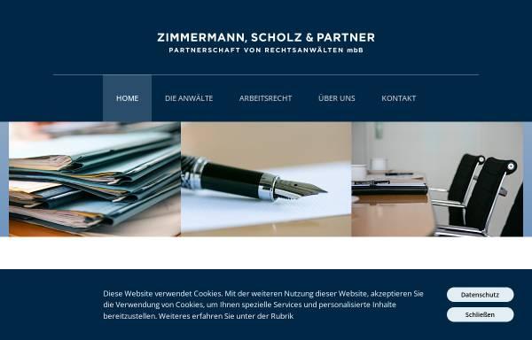 Vorschau von www.zimmermann-scholz.de, Zimmermann, Scholz und Partner