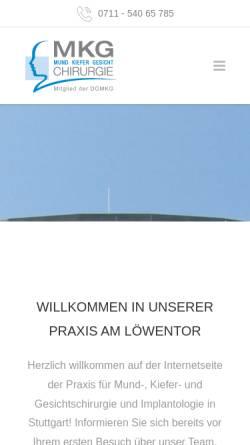 Vorschau der mobilen Webseite www.drkless.de, Dr.med Dr.med.dent. Steffen Kless