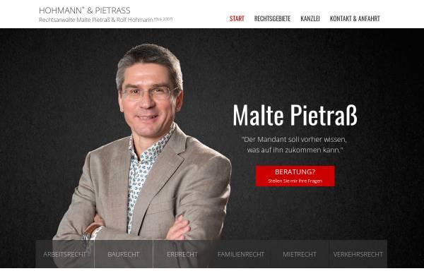 Vorschau von www.hohmann-und-pietrass.de, Hohmann - Pietrass - Koch
