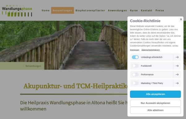 Vorschau von www.wandlungsphase.de, Praxis Wandlungsphase