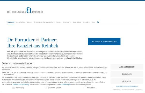 Vorschau von www.purrucker-partner.de, Dr. Purrucker & Partner