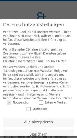 Vorschau der mobilen Webseite www.purrucker-partner.de, Dr. Purrucker & Partner