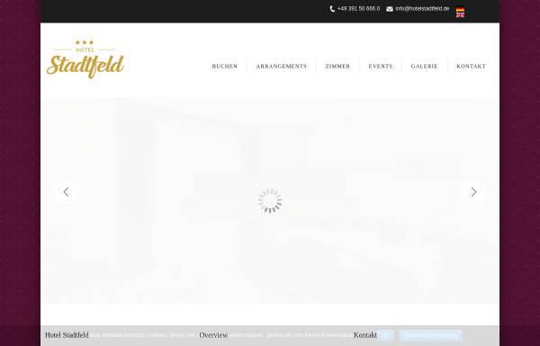 Vorschau von www.hotelstadtfeld.de, Hotel Stadtfeld