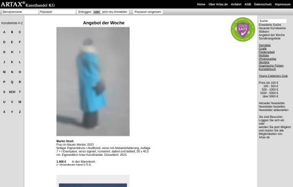 Vorschau von artax.de, Artax Kunsthandel KG
