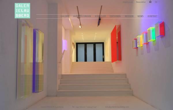 Vorschau von www.galerie-lausberg.com, Galerie Lausberg