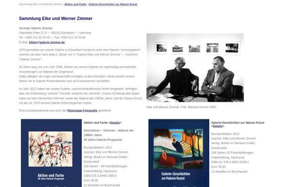 Vorschau von www.galerie-zimmer.de, Galerie Zimmer