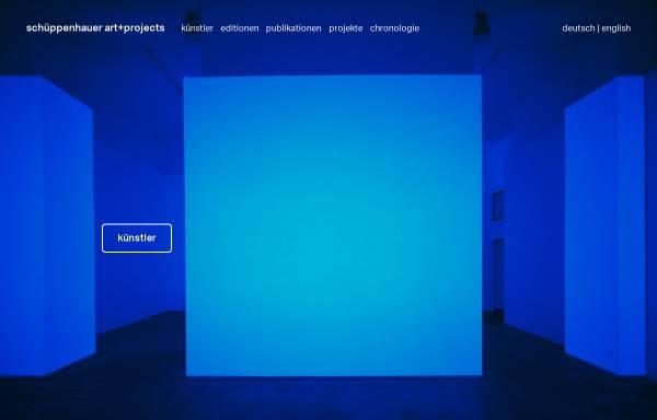 Vorschau von www.galerie-schueppenhauer.de, Galerie Schüppenhauer