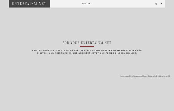 Vorschau von www.entertainm.net, Entertainm.net GbR