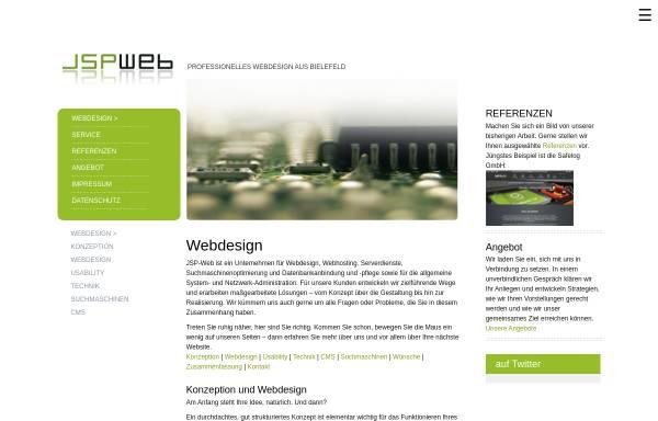 Vorschau von www.jsp-web.de, JSPweb - Stefan Pump
