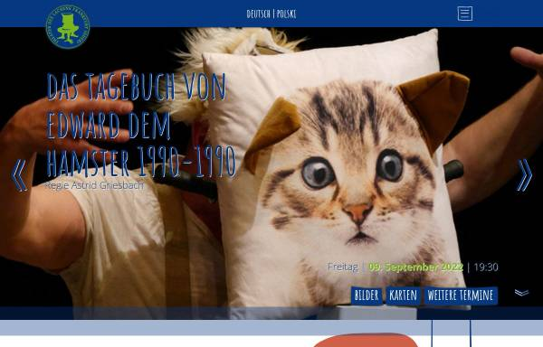 Vorschau von www.theaterdeslachens.de, Theater des Lachens, Puppen- und Schauspiel e.V.