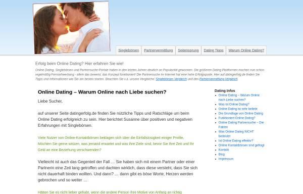 Vorschau von www.datingerfolg.de, Schneider, Vanessa