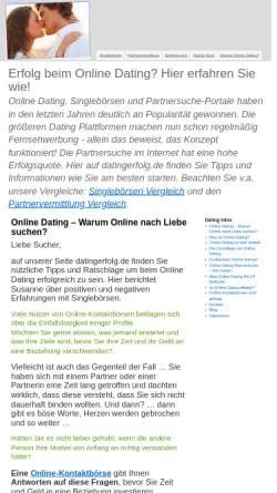 Vorschau der mobilen Webseite www.datingerfolg.de, Schneider, Vanessa