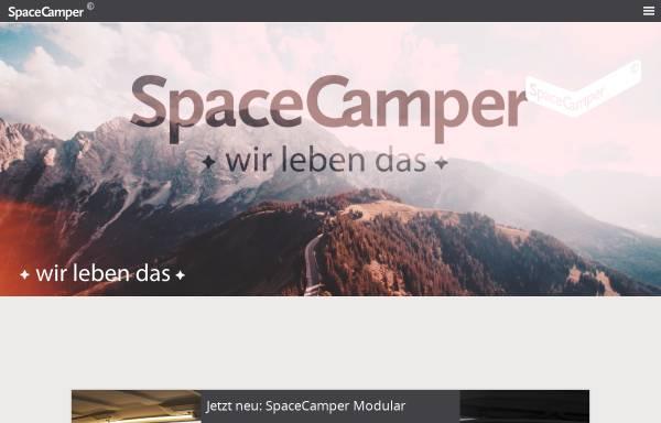 Vorschau von www.spacecamper.de, RW-Fahrzeugbau GmbH