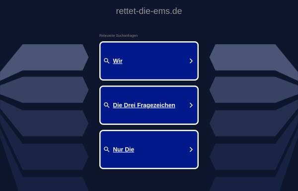 Vorschau von www.rettet-die-ems.de, Bürgerinitiative Interessengemeinschaft Ems