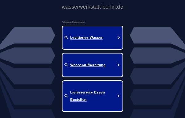 Vorschau von www.wasserwerkstatt-berlin.de, Wasserwerkstatt-Berlin, Inh. Ingrid Pfistner