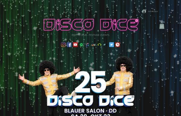 Vorschau von www.discodice.de, Disco Dice