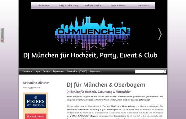 Vorschau von www.dj-muenchen.com, DJ München