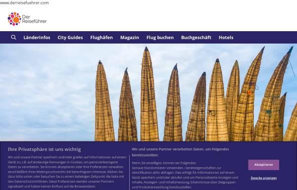 Vorschau von www.derreisefuehrer.com, DerReisefuehrer.com