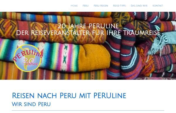 Vorschau von www.peruline.de, Peru auf einen Blick