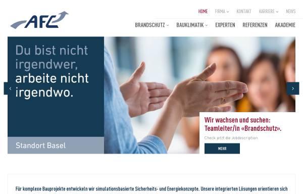 Vorschau von www.afc.ch, Air Flow Consulting AG