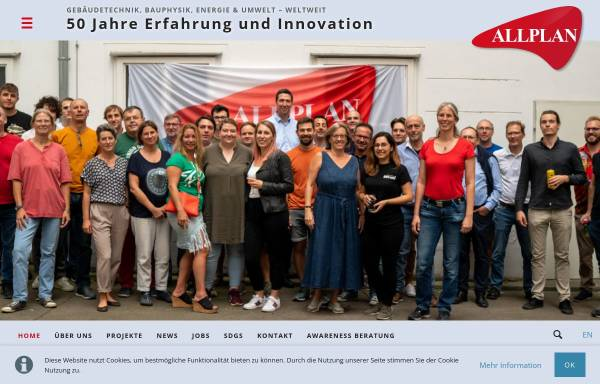 Vorschau von www.allplan.at, Allplan GmbH