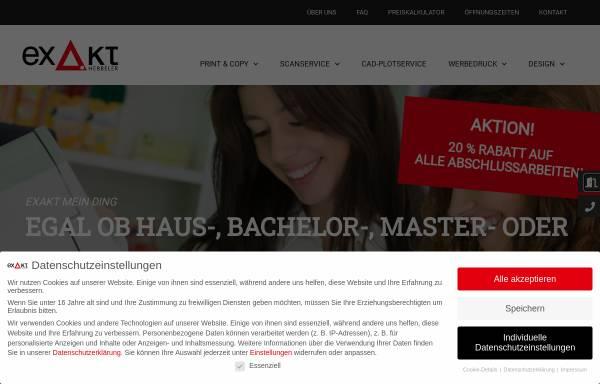 Vorschau von www.exakt.org, EXAKT-Repro
