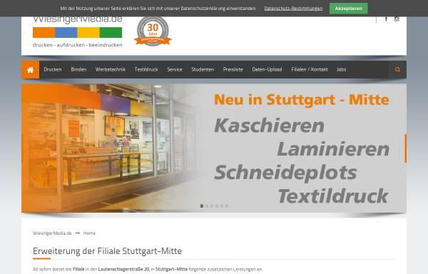 Vorschau von www.wiesingermedia.de, WiesingerMedia GmbH - Thomas Wiesinger