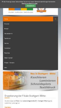 Vorschau der mobilen Webseite www.wiesingermedia.de, WiesingerMedia GmbH - Thomas Wiesinger