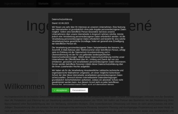 Vorschau von www.bestgen-ingenieure.de, Bestgen & Partner, Inh. René Bestgen