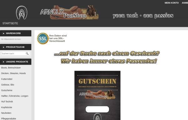Vorschau von www.arnold-proshop.de, Arnold-Pro Shop