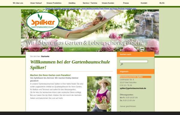Vorschau von www.gartenbaumschule.de, Gartenbaumschule Spilker