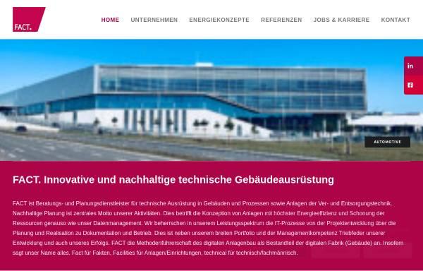 Vorschau von www.fact-gmbh.com, Fact GmbH