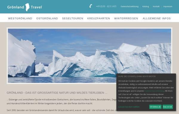 Vorschau von www.groenland-travel.de, Grönland Reisen